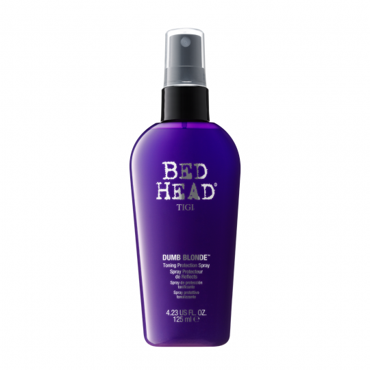 TIGI Bed Head Dumb Blonde spray protector tonifiant pentru par blond