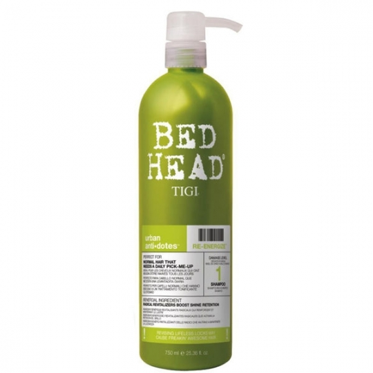 TIGI Bed Head Urban Antidotes Re-energize sampon pentru par normal