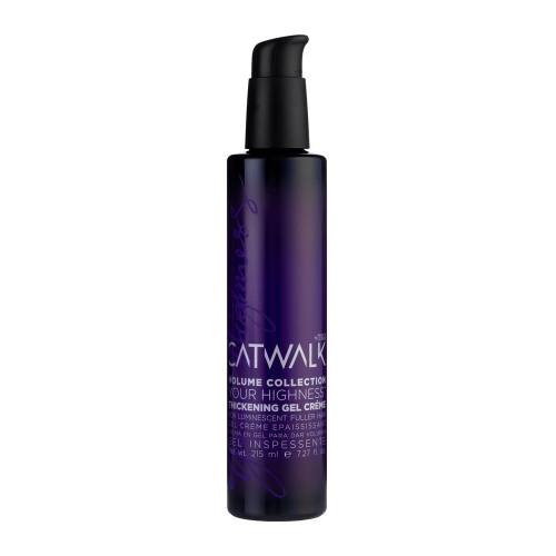 TIGI Catwalk Your Highness Thickening gel crema pentru par fin